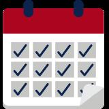 Flexible weekly start dates